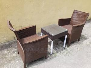 Outdoor Rattan Chairs and Table   Sports Equipment for sale in Rivers State, Port-Harcourt