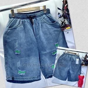 Luxury Denim Shorts Jeans Design | Clothing for sale in Lagos State, Lagos Island (Eko)