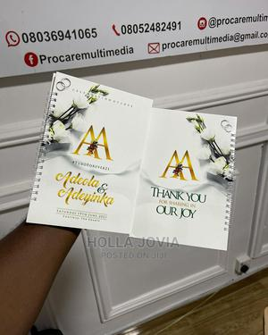 A5 Wire Binded Jotter   Printing Services for sale in Lagos State, Shomolu