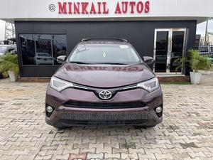Toyota RAV4 2017 XLE AWD (2.5L 4cyl 6A) Purple | Cars for sale in Lagos State, Lekki