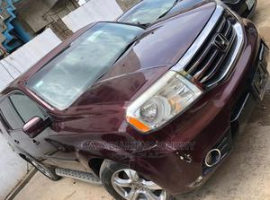 Honda Pilot 2013 EX 4dr SUV (3.5L 6cyl 5A) Red   Cars for sale in Lagos State, Ikeja