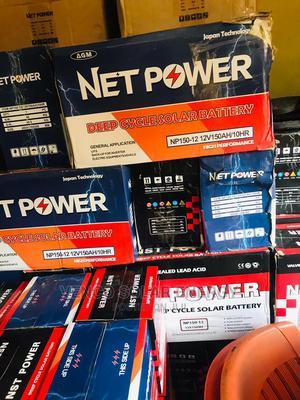 200AH 12v Net Power Inverter Battery | Solar Energy for sale in Lagos State, Ikeja