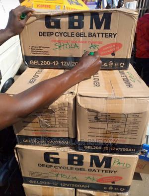 GBM 200AH 12v Inverter Battery | Electrical Equipment for sale in Lagos State, Oshodi