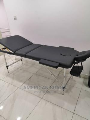 Massage Bed Foldable With Iron Leg Brand New | Sports Equipment for sale in Lagos State, Ikeja