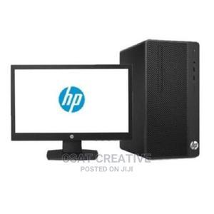 HP 290 G2 Desktop - Intel Pentium G4400 - 3.3ghz - 4GB RAM - | Computer Monitors for sale in Lagos State, Ikeja