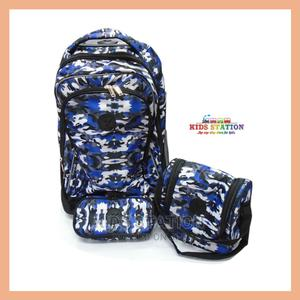 3-piece Children Trolley School Bag   Bags for sale in Lagos State, Yaba