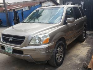 Honda Pilot 2005 EX 4x4 (3.5L 6cyl 5A) Gold | Cars for sale in Lagos State, Surulere