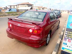 Toyota Corolla 2004 Red   Cars for sale in Ogun State, Sagamu