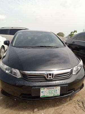 Honda Civic 2012 Black   Cars for sale in Abuja (FCT) State, Gaduwa