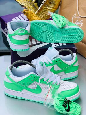 Nike Dunk Low SP White/Green   Shoes for sale in Lagos State, Lagos Island (Eko)