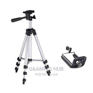 Mobile Phone Camera Tripod Stand With Phone Holder | Accessories for Mobile Phones & Tablets for sale in Lagos State, Ikeja