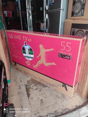 """LG 55""""Inches Android SMART TV Netflix + Wi-Fi + Youtube App   TV & DVD Equipment for sale in Lagos State, Apapa"""