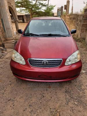 Toyota Corolla 2006 LE Red   Cars for sale in Oyo State, Akinyele