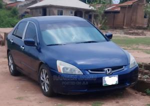 Honda Accord 2005 Sedan LX V6 Automatic Blue | Cars for sale in Kwara State, Ilorin West