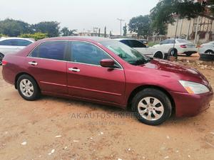 Honda Accord 2005 Automatic Red   Cars for sale in Abuja (FCT) State, Jabi