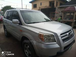 Honda Pilot 2008 Silver | Cars for sale in Lagos State, Ikeja