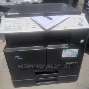 Bizhub 215 Printer/ Photocopy Machine | Printers & Scanners for sale in Lagos State, Surulere