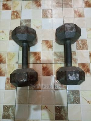 Pro Fitness 2 X 10KG Dumbbells | Sports Equipment for sale in Lagos State, Ajah