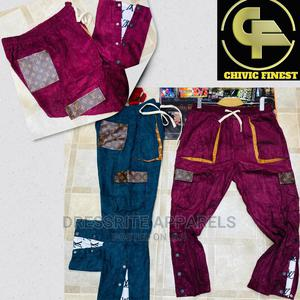 Louis Vuitton Quality Designer Joggas Trousers   Clothing for sale in Lagos State, Lagos Island (Eko)