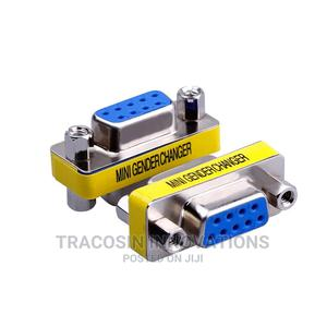 DB9 Connector Female to Female Adapter VGA Coupler Joiner   Accessories & Supplies for Electronics for sale in Lagos State, Yaba