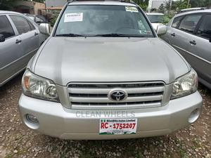 Toyota Highlander 2004 Limited V6 4x4 Gold | Cars for sale in Abuja (FCT) State, Central Business Dis