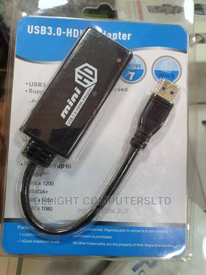 USB 3.0 to HDMI HD 1080P Vide Cable Adapter Converter for Pc | Accessories & Supplies for Electronics for sale in Lagos State, Ikeja