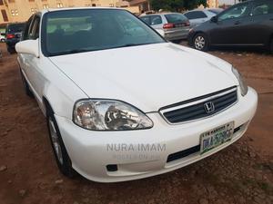 Honda Civic 2000 EX 4dr Sedan White | Cars for sale in Kaduna State, Kaduna / Kaduna State