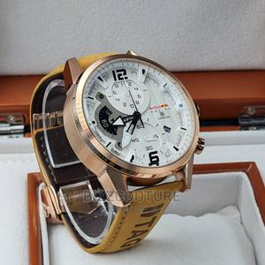 High Quality TAG HEUER Leather Watch Available for Sale   Watches for sale in Lagos State, Magodo
