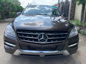 Mercedes-Benz M Class 2014 Brown | Cars for sale in Lagos State, Agege