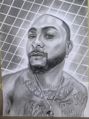 Davido Art Portrait | Arts & Crafts for sale in Osun State, Ife