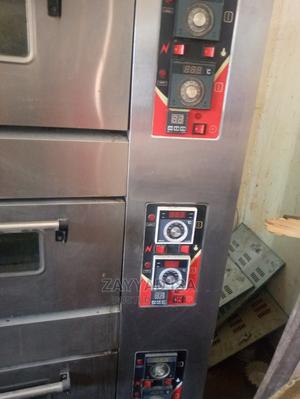 Industrial Gas Oven - 3-Deck 9-Tray Gas Oven for Bakery | Industrial Ovens for sale in Edo State, Esan North East