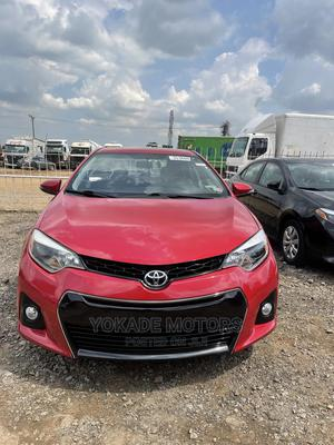 Toyota Corolla 2016 Red   Cars for sale in Lagos State, Ojodu