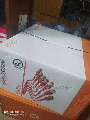 Hik Vission Cat6 Cable   Accessories & Supplies for Electronics for sale in Enugu State, Enugu