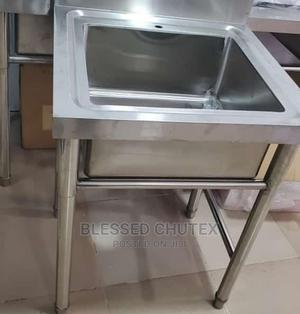 Single Bowl Stainless Steel Sink   Restaurant & Catering Equipment for sale in Lagos State, Ojo