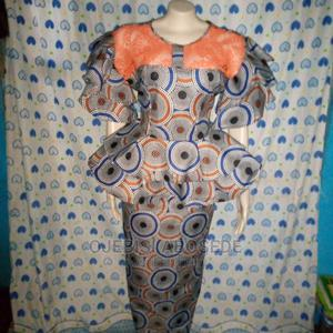Ankara Straight Skirt With Peplum Blouse and Sleeve | Clothing for sale in Oyo State, Afijio