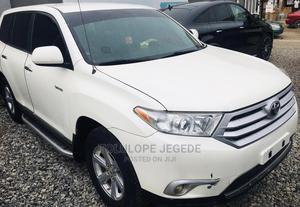 Toyota Highlander 2008 Limited White | Cars for sale in Lagos State, Ogba