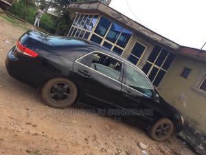 Honda Accord 2003 Automatic Black | Cars for sale in Lagos State, Ipaja