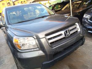Honda Pilot 2008 EX-L 4x4 (3.5L 6cyl 5A) Gray | Cars for sale in Lagos State, Ikeja