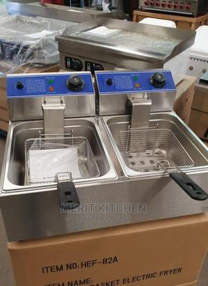 2 Pans Deep Fryer | Restaurant & Catering Equipment for sale in Lagos State, Ojo
