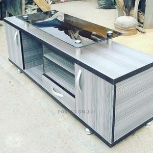 Tv Stand With Glass | Furniture for sale in Lagos State, Shomolu