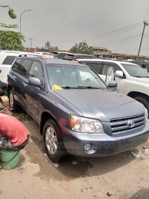 Toyota Highlander 2005 Gray   Cars for sale in Lagos State, Apapa
