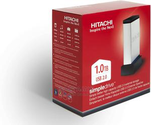 Hitachi Simpledrive 1TB USB External Hard Drive | Computer Accessories  for sale in Abuja (FCT) State, Central Business District