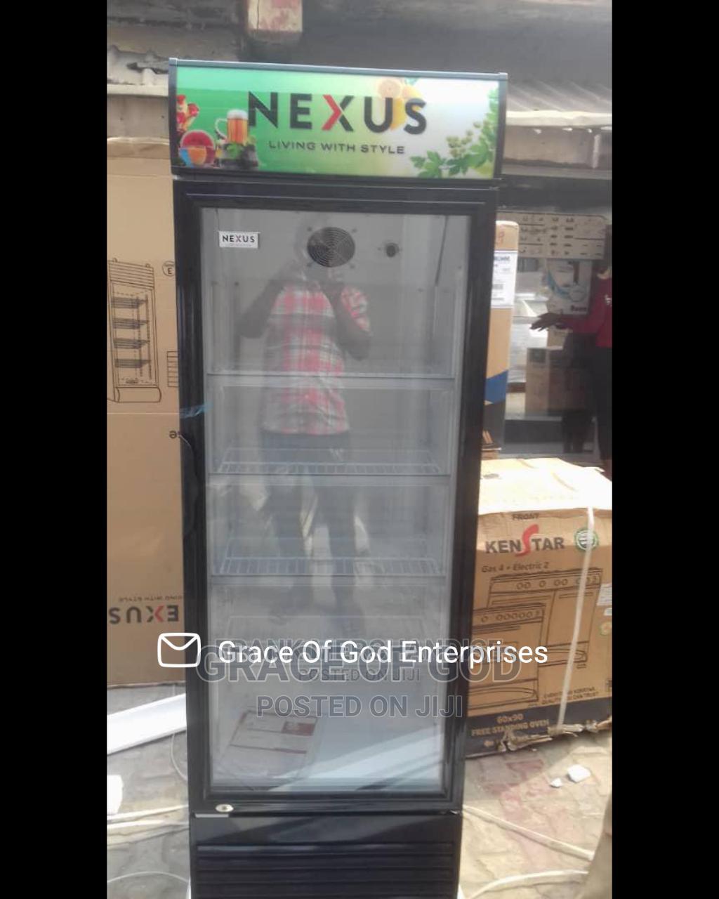 Nexus Showcase Glass Standing Refrigerator NX401 100%Copper | Store Equipment for sale in Ikeja, Lagos State, Nigeria