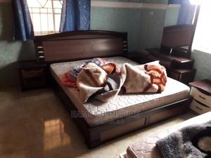 Executive Bed 6by6 With Two Side Drawer One Standing Mirror   Furniture for sale in Lagos State, Lekki