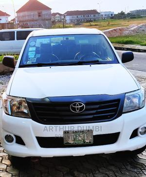 Toyota Hilux 2014 WORKMATE 4x4 White | Cars for sale in Lagos State, Ibeju