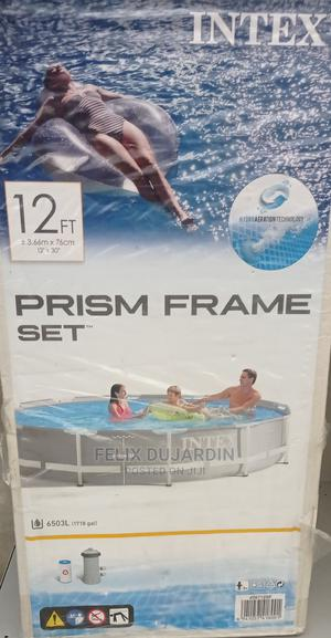 12ft Intex Pool on Promotion Solid and Standard Quality | Sports Equipment for sale in Lagos State, Lekki