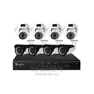 Winpossee CCTV AHD 2MP 4 INDOOR + 4 Outdoor +8 Channel DVR | Security & Surveillance for sale in Lagos State, Ojo
