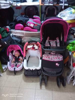Tokunbo Uk Used 3in1 Stroller With Car Seat | Children's Gear & Safety for sale in Lagos State, Ikeja