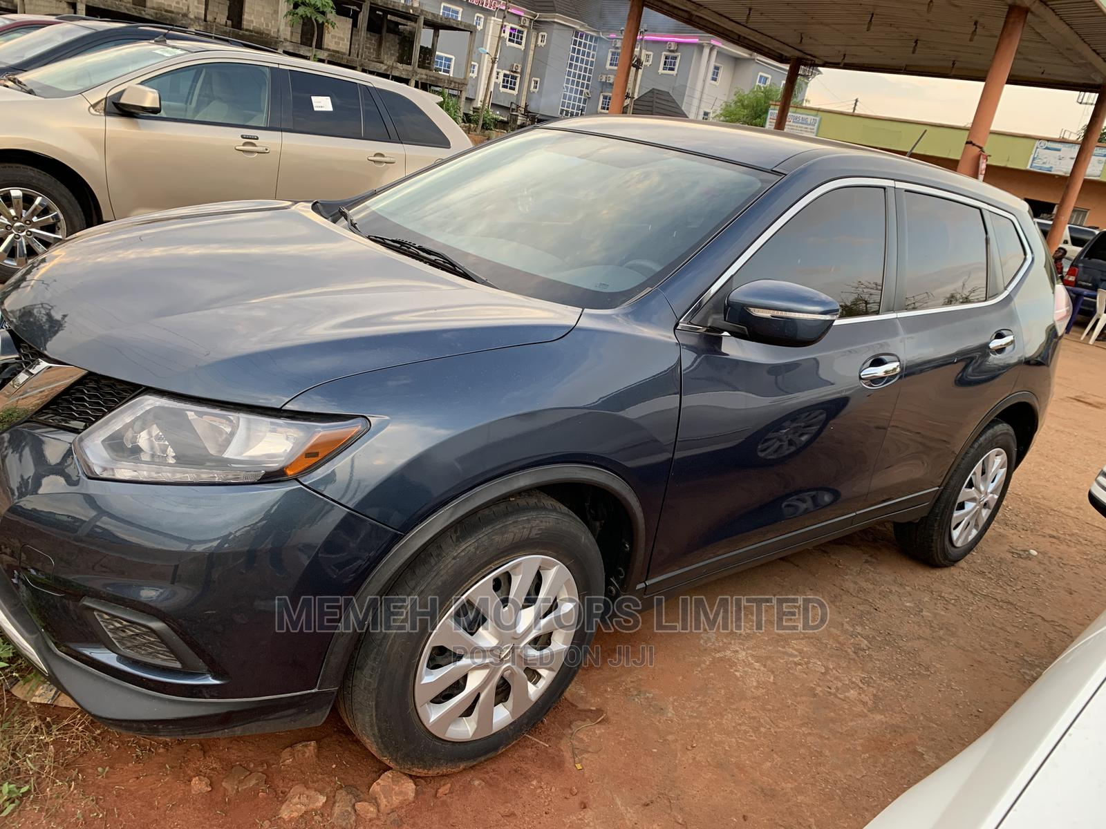Nissan Rogue 2015 Blue | Cars for sale in Oshimili South, Delta State, Nigeria