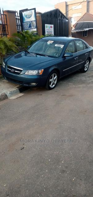 Hyundai Sonata 2008 2.4 Limited Blue | Cars for sale in Lagos State, Ikeja